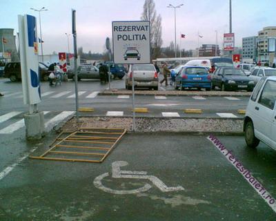Parcare De Handicapti Pentru Politie