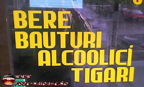 Carul Cu Bere, Alcoolici