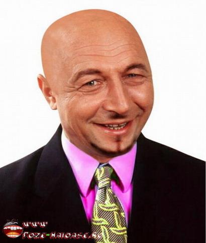 Poze Cu Basescu Tuns Chel